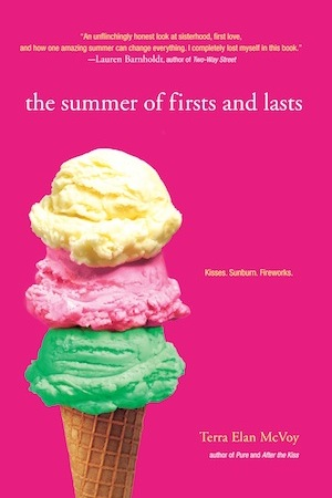 Book Cover of The Summer of Firsts and Lasts